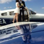 Аренда самолета для романтического свидания